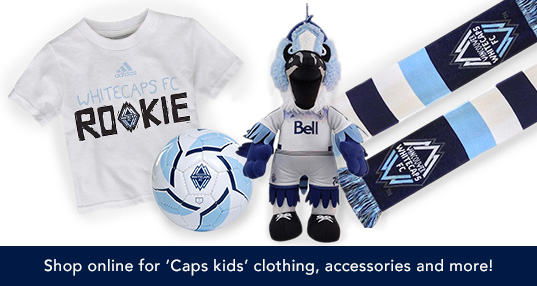 Whitecaps FC Youth Merchandise