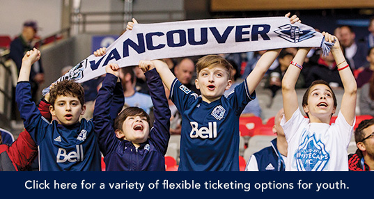 Whitecaps FC Youth Tickets